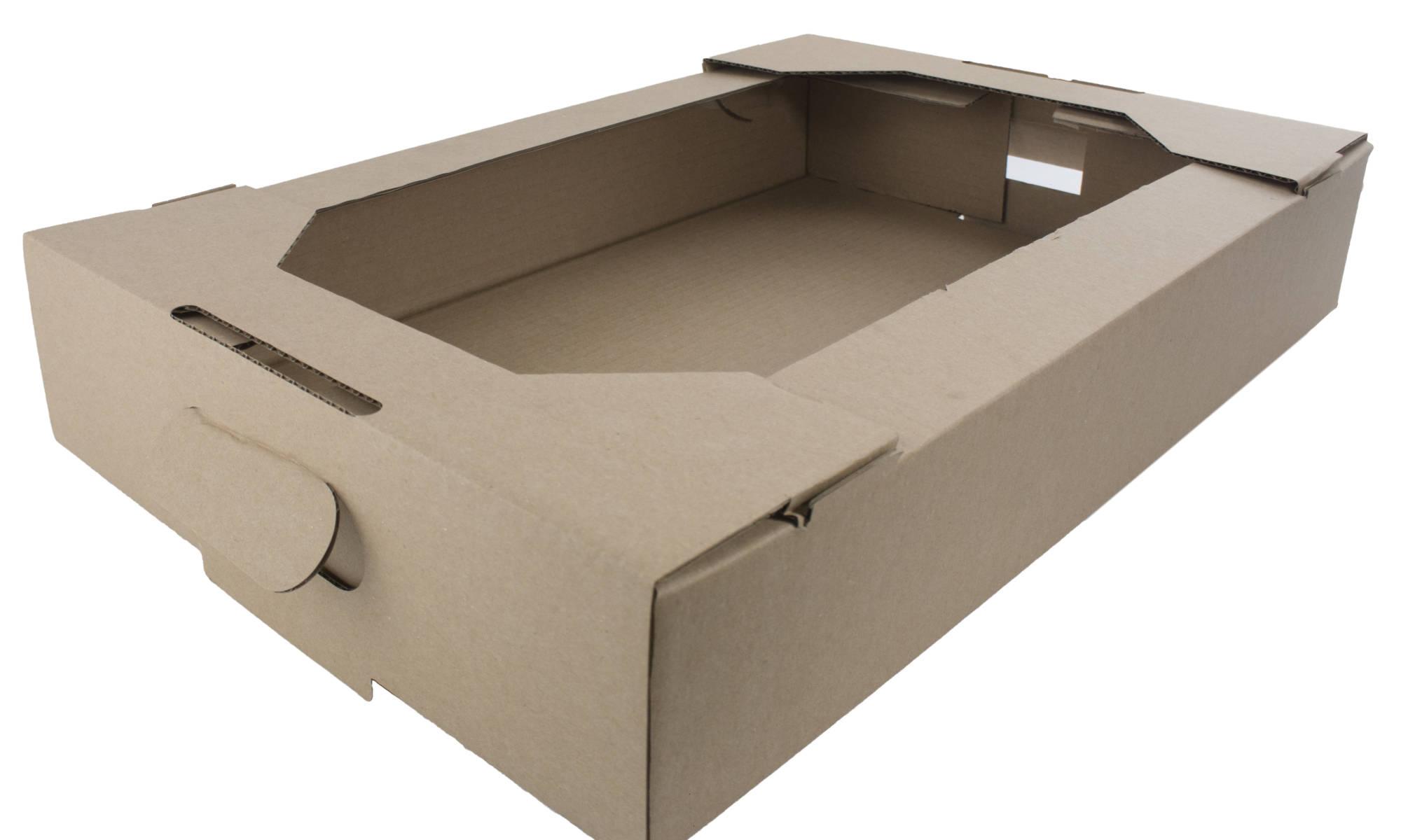 eco-friendly cardboard bakery tray